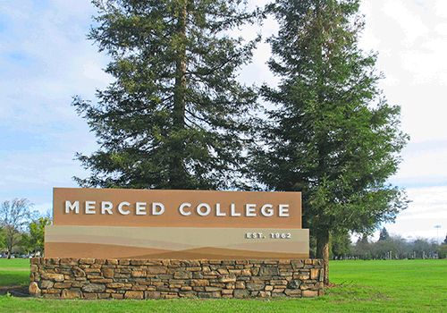 Welcome to Merced College: Sign